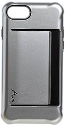 Чехол для мобильного телефона Avatti Mela Extreme PC Cover Silver для iPhone 7