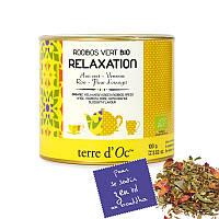 TdO Органический Зеленый ройбуш для релаксации (зеленый анис, вербена, роза), 100 г