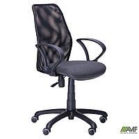 Крісло Oxi/АМФ-4 сидіння А-50/Сітка чорна спинка, фото 1