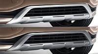 Накладка переднего бампера для Volvo XC60 Новая Оригинальная