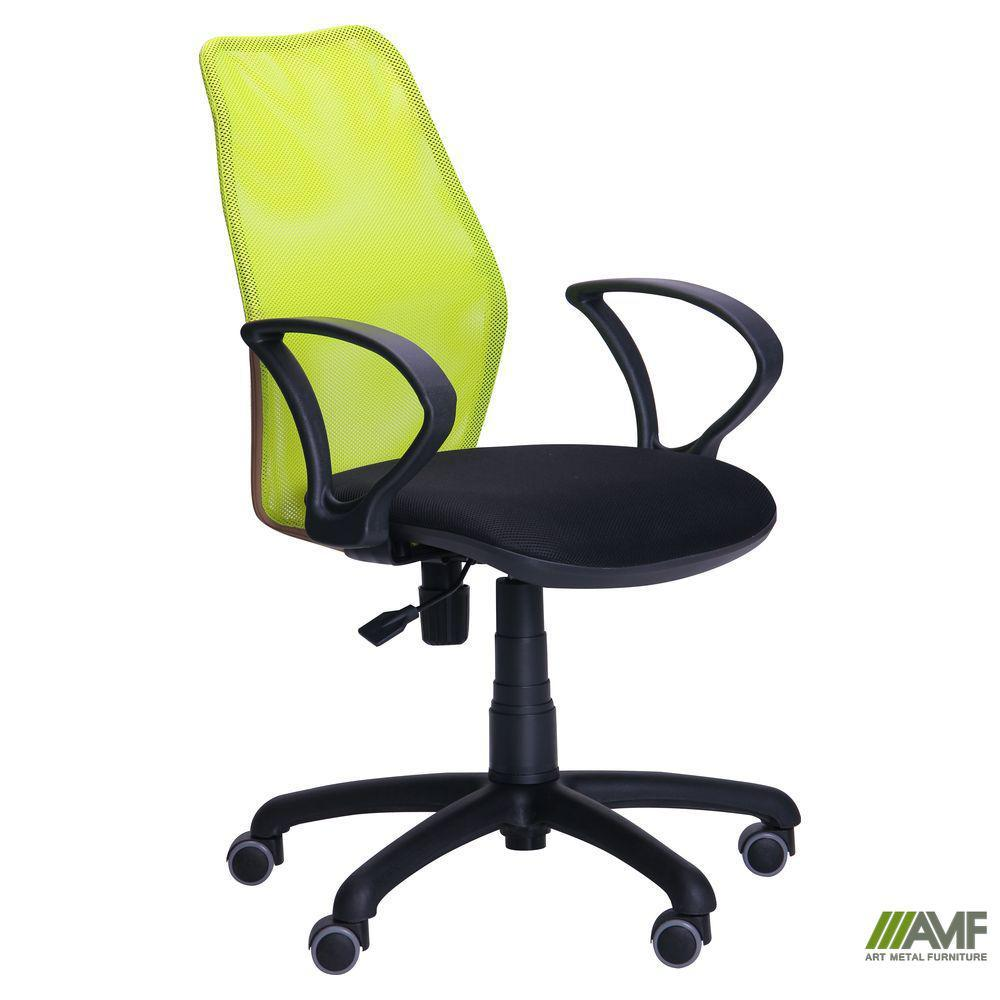 Кресло Oxi/АМФ-4 сиденье А-79/спинка Сетка лайм