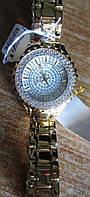 """Шикарные позолоченные часы с фианитами """"Анталия"""" от студии LadyStyle.Biz"""