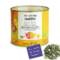 """TdO Органический зеленый чай """"Счастье"""" ( ацерола, гуарана, куст смородины ), 100 г"""