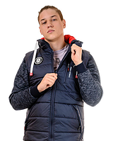 Стильная мужская демисезонная куртка -жилетка Майкл
