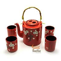 Красивый чайный сервиз в восточном стиле Сакура