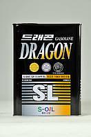 Полусинтетическое моторное масло DRAGON SL 5W-30