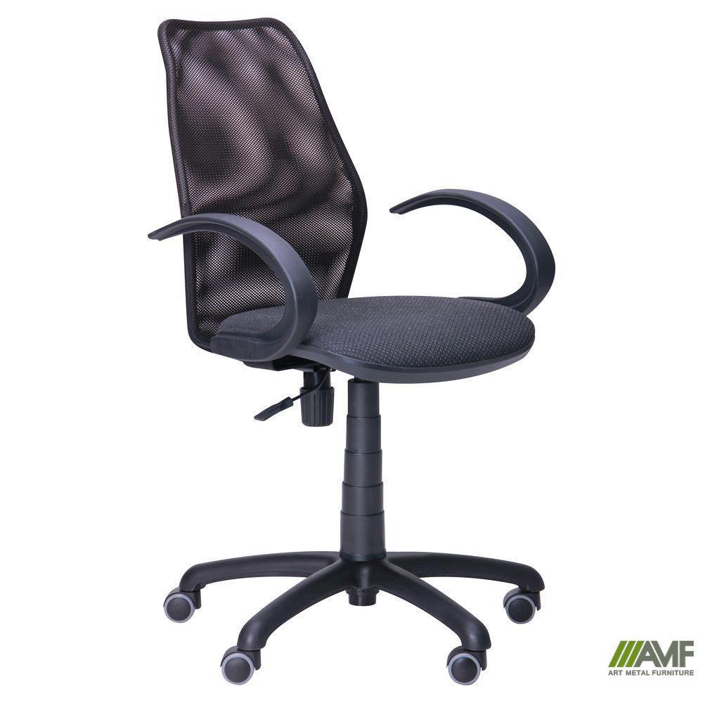 Кресло Oxi/АМФ-5 сиденье Поинт-02/спинка Сетка черная