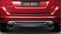 Накладка заднего бампера R-Design для Volvo XC60 Новая Оригинальная