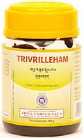 Триврит лехам, Коттакал - выводит шлаки, нормализует эндокринную систему Trivrilleham, Arya Vaidya Sala 200 г.