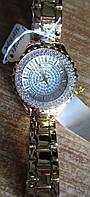 """Шикарные позолоченные часы с фианитами """"Анталия"""" от студии LadyStyle.Biz, фото 1"""