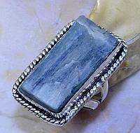 """Кольцо  с  кристаллом кианита """"Кристалл"""", размер 17.4 от студии  LadyStyle.Biz, фото 1"""