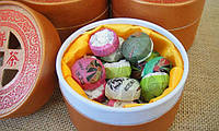Чай китайский Императорский Юньнань Пуэр (Pu-erh) 20шт по 5г Прессованный