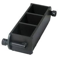 Форма куба 3ФК-100, для бетонных образцов 100х100х100мм 3-х гнездн. (метал)