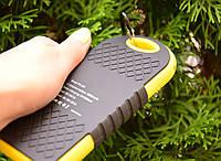 Павер Банк на солнечной батарее 10000 mah Желтый