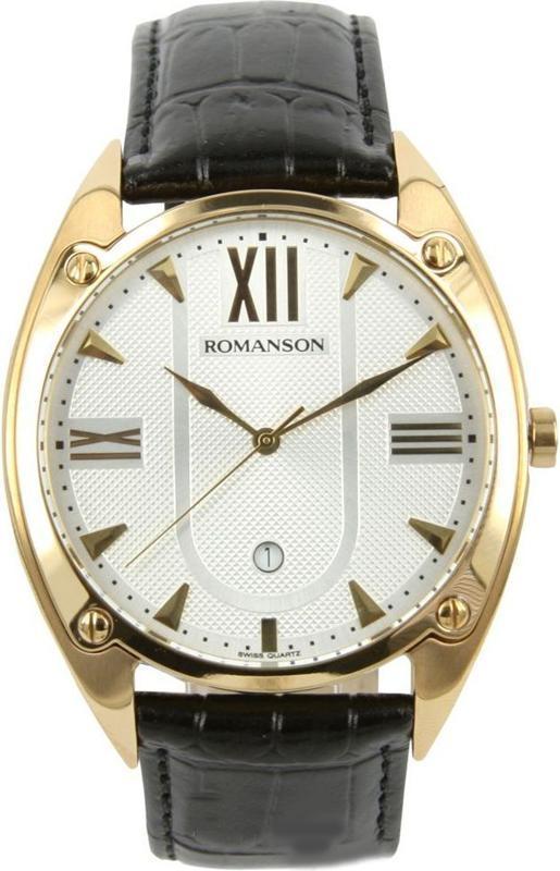 Наручные мужские часы Romanson TL1272MG WH оригинал