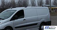 Рейлинги Fiat Scudo, Citroen Jumpy, Peugeot Expert 2007- длинн.база Хром (чугунные ножки) Can Koruma