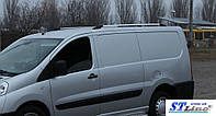 Рейлинги Fiat Scudo, Citroen Jumpy, Peugeot Expert 2007- корот.база Хром (чугунные ножки) Can Koruma