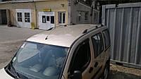 Рейлинги Fiat Doblo 2000-2010 короткая база Хром (чугунные ножки) Can Koruma