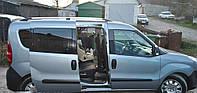 Рейлинги Fiat Doblo 2010+, Opel Combo 2012+ длинная база Хром (чугунные ножки) Can Koruma