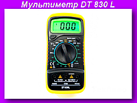 Мультиметр DT 830 L,ЖК-цифровой мультиметр