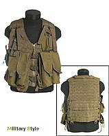Жилет разгрузочный АК-74 (12 карман. Coyote)
