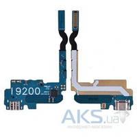 Шлейф для Samsung i9200 Galaxy Mega 6.3 / i9205 Galaxy Mega 6.3 с разъемом зарядки и микрофоном