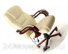 Офисное массажное кресло PRESIDENT с подогревом бежевое, фото 2