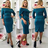 Костюм женский с юбкой для офиса, разм 50-56, 2 цвета