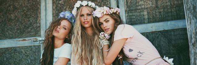венки на голову с цветами
