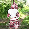 Женскоя льняная туника с вышивкой, фото 3