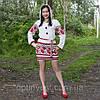 Женскоя льняная туника с вышивкой, фото 2
