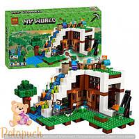 Новинка Майнкрафт 2017 года! Аналог Lego Minecraft 10624