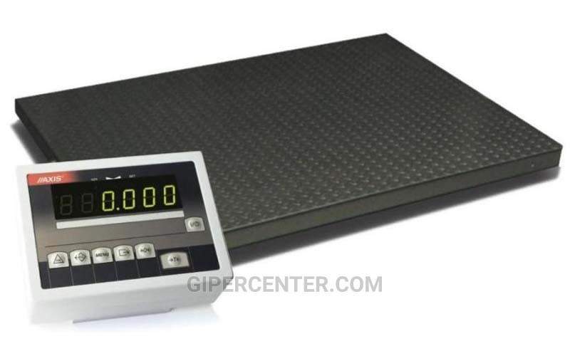 Платформенные весы 4BDU600-1215 практичные 1250х1500 мм (до 600 кг)