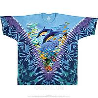 Футболка Liquid Blue Caribbean Treasure Tie-Dye