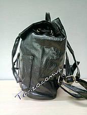 Молодёжный женский рюкзак кожзам, фото 2