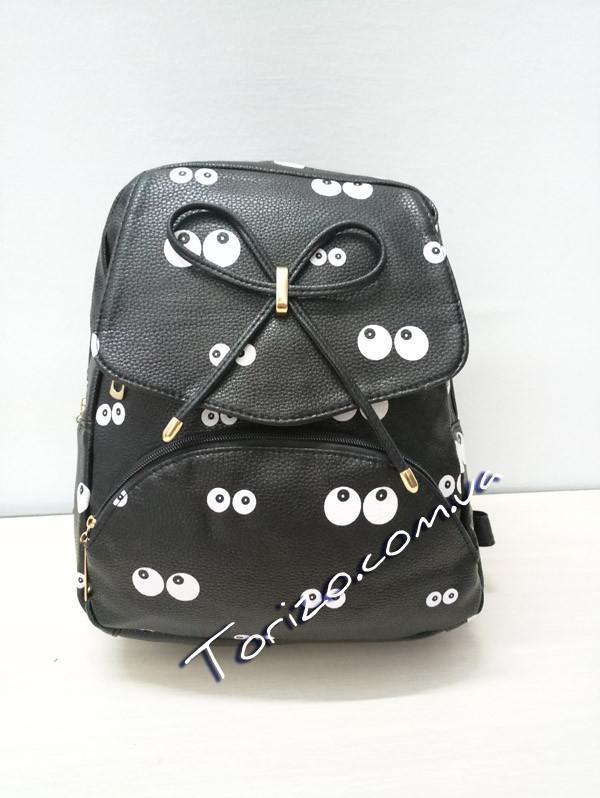 Молодёжный женский рюкзак кожзам