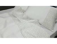 Комплект постельного белья из льна Дуэт белый