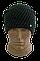 Мужская шапка зимняя, флис м 7035, разные цвета, фото 2