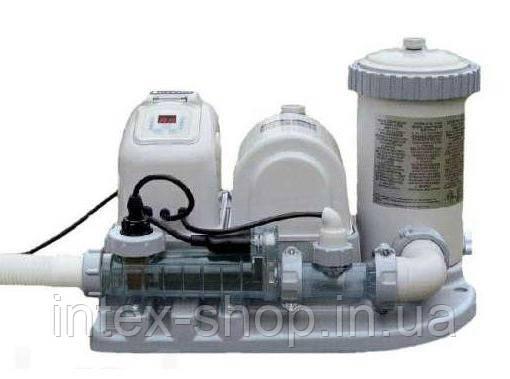 Насос-фильтр с хлоргенератором Intex 54612