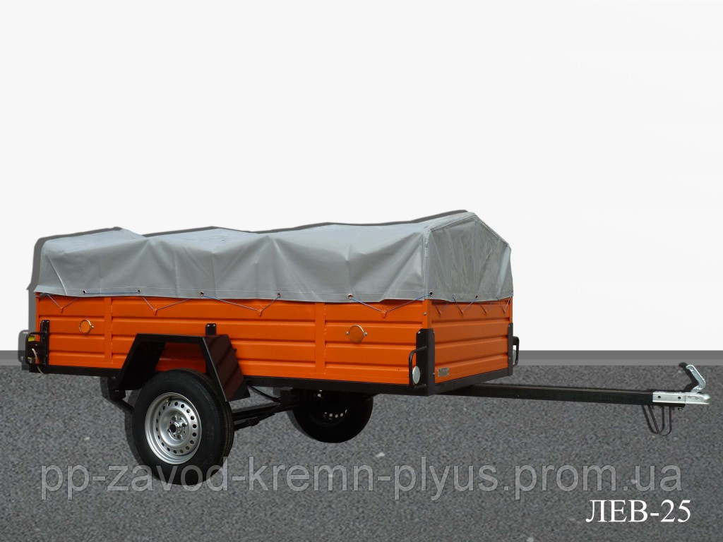 Легковой прицеп ЛЕВ-25 (2,5*1,3*0,51м)