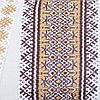 Этническое женское платье с геометрической вышивкой, фото 5