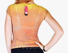 Женская футболка сетка (WF5001)   6 шт., фото 3