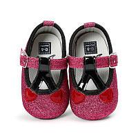 Красивые туфельки-пинетки для  девочки 13 см.