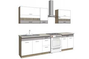 FADOME Комплект кухонной мебели GLOBAL B