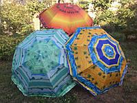 Пляжный зонт с наклоном 2,2 м Anti-UF Пальмы