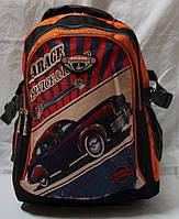 Ранец рюкзак школьный ортопедический Edison Машина 17-7824-2