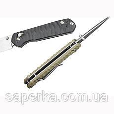 Нож складной Ganzo G717, желтый, фото 3