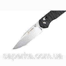 Нож складной Ganzo G717, желтый, фото 2