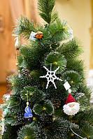 Скоро Новый Год! Снежинка вязаная. Украсьте елку вместе с нами. Выставка-продажа в Студии куклы.