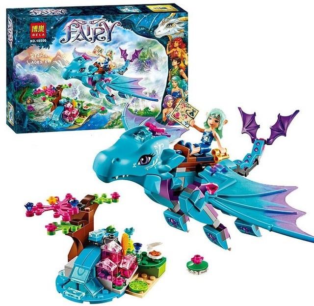 """Конструктор Bela Fairy ''Приключение дракона воды'' 214 деталей арт. 10500 (аналог LEGO Elves Эльфы 41172) - Интернет-магазин """"Basket toy"""" в Харькове"""